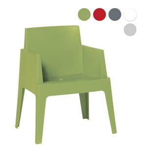 "Garden Impressions Stuhl ""Box"", hellgrün"