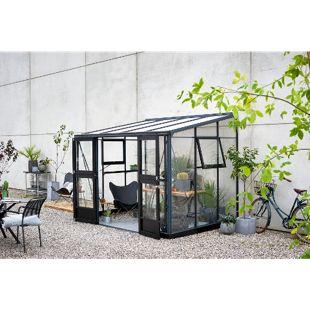 Juliana Veranda 6,6 m² Gewächshaus mit 3 mm Sicherheitsglas