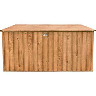 Tepro Metall-Gerätebox 190x90, Holz-Dekor, eiche