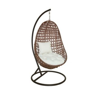 Home Deluxe Hängesessel Nido in Rattan-Optik