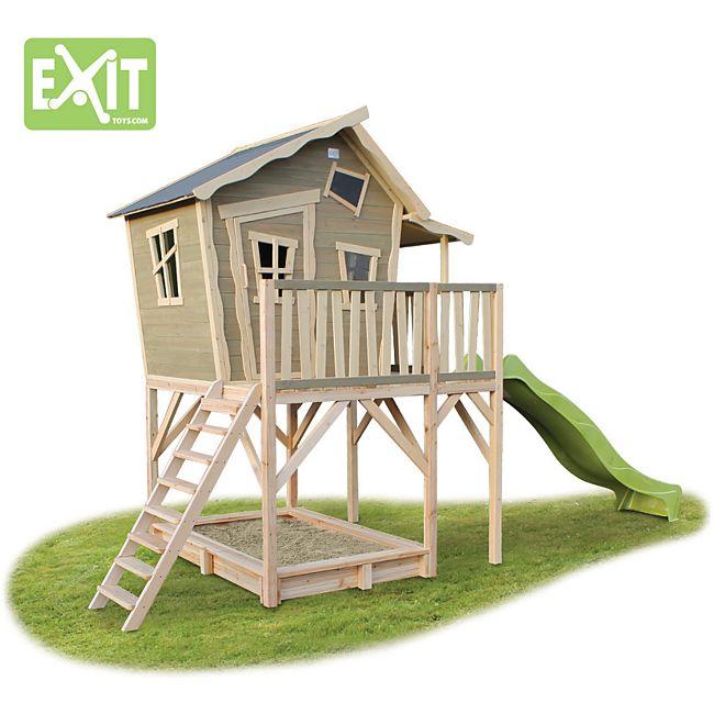 pirat cowboy und indianer ein spielhaus f r ihre kinder als gartenmittelpunkt gartenxxl. Black Bedroom Furniture Sets. Home Design Ideas