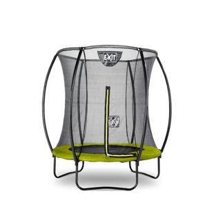EXIT Silhouette Trampolin + Sicherheitsnetz 183 (6ft) Lime Grün