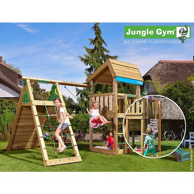 popular spielturm jungle gym xs33 kyushucon. Black Bedroom Furniture Sets. Home Design Ideas