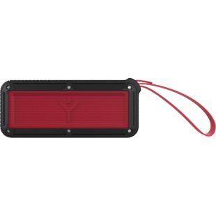 RYGHT Airbox-M portabler Lautsprecher - schwarz/rot