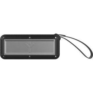 RYGHT Airbox-M portabler Lautsprecher - schwarz/silber
