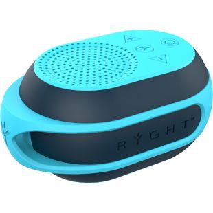 RYGHT POCKET 2 portabler Lautsprecher - himmelblau/petrol