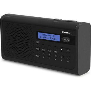 Karcher DAB 2405 tragbares Radio mit DAB+/FM-Radio