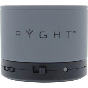 Ryght Y-Storm portabler Lautsprecher - grau