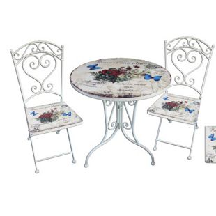 Garden Pleasure Bistro-Set Floral