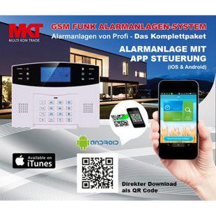 MKT M2B Funk-Alarmanlage mit GSM