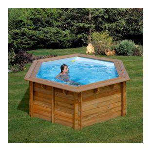 Gre Echtholz-Pool Lilli-ECO, Ø 295 x 119 cm