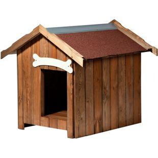 Dobar Isolierte Hundehütte mit Spitzdach