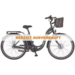 """Didi Thurau Edition"" Alu City Comfort7 28 Zoll, 24V, 7 Gang mit Korb"