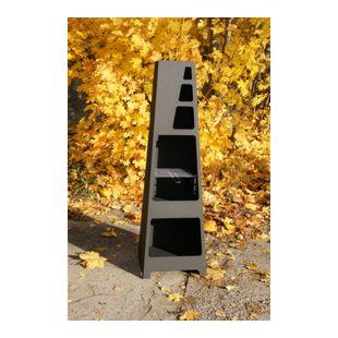 Dobar 35530 Design-Grillkamin, 45x40x148 cm