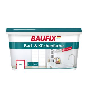 BAUFIX Bad- & Küchenfarbe, 5 L