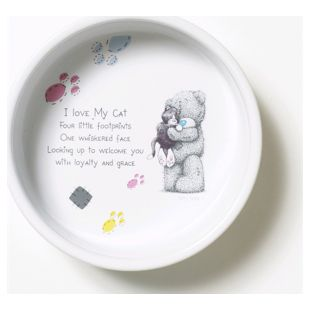 Me to You - Set Futternapf und Unterlage Katze 1 (inkl. Spielangel)