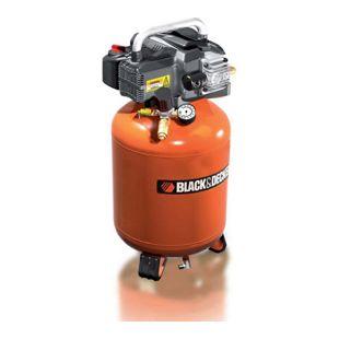Black & Decker Kompressor mit 24 Liter Tank ölfrei - BD 195/24V
