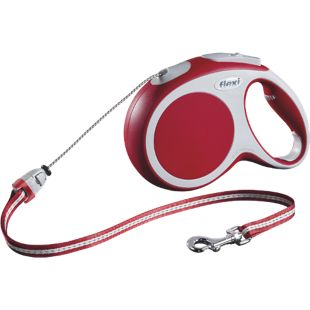 Flexi VARIO, Gr. M, Seilleine 8m, für Hunde bis 20 kg, rot
