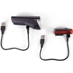 Provelo LED Fahrradbeleuchtung USB Ladekabel und Halterung