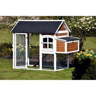 Dobar Hühner- und Kleintierstall mit Außengehege und Legebox