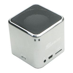 JayTech Mini Bass Cube SA 101 - silber