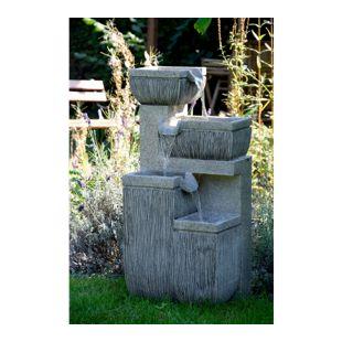 Dobar 96130e Design-Gartenbrunnen mit 4 Stufen