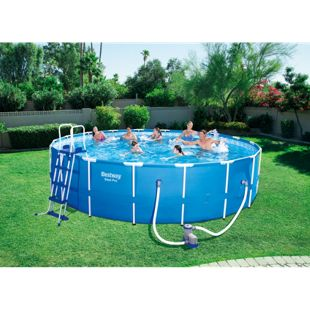 Frame Steel Pro Pool, 549x122cm im Set