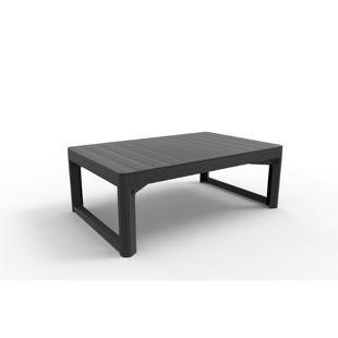 Allibert höhenverstellbarer Lounge Tisch Lyon, anthrazit