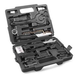 Provelo Fahrrad Werkzeugkoffer 26tlg, Werkzeug Tool Box, Werkzeugtasche