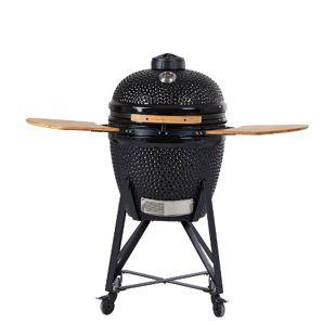 "AsViva Kamado Cera 21"" Pro Black Keramik-Grill"