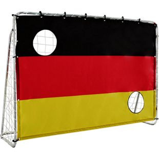 "Solex Sports Fußballtor 213 x 152 x 76 cm mit Torwand ""Germany"""