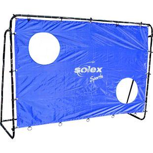 """Solex Sports Fußballtor 213 x 152 x 76 cm mit Torwand """"Goal"""""""