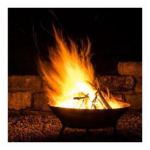 Home Deluxe Grey Bowl Feuerschale