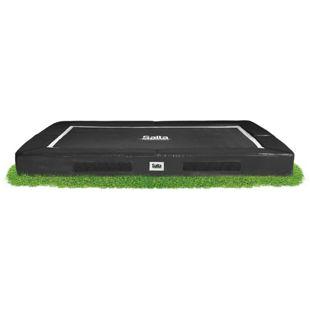 Salta Excellent Ground - zum Einbau in den Gartenboden - rechteckig - 153x214cm - Schutzrand schwarz