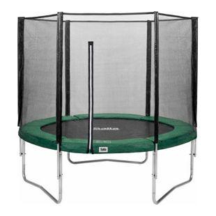 Salta Trampoline - Combo Set - Ø183cm - Trampoline mit Sicherheitsnetz - Schutzrand Farbe: grün
