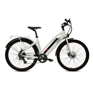 """Llobe 27,5"""" City/Trekking E-Bike Voga Bianco"""