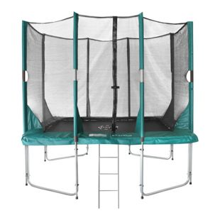 Hi-Flyer 1075 Combi Trampolin + Sicherheitsnetz + ladder