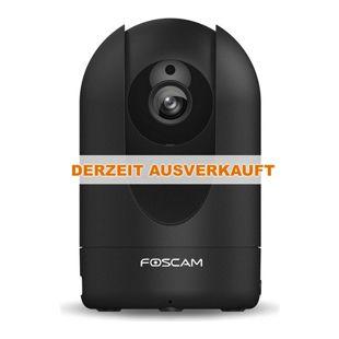 Foscam R2 IP Kamera – 2 Megapixel HD Innen-Kamera - schwarz