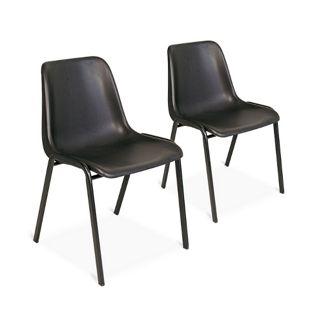 BRB Formschalen-Stühle 2er-Set