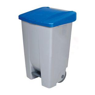 BRB Tret-Abfalleimer 80 Liter, blau