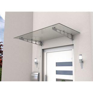 Gutta HD/LT 140 Edelstahl-Vordach mit 8 mm Verbund-Sicherheitsglas