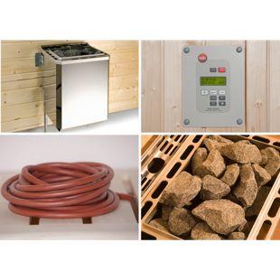 weka Saunaofen-Set BioS 4,5 KW mit Ofenanschlußkabel