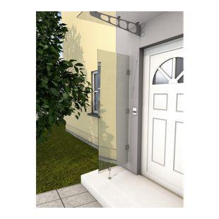 Gutta HD klar Vordach-Seitenteil, 60 x 180 cm