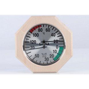 Eliga 83015 Klimamesser Ø 170 mm, 8-eckig
