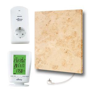 Marmony Infrarotheizung M500Plus (500W) Jura mit Thermostat MTC-40
