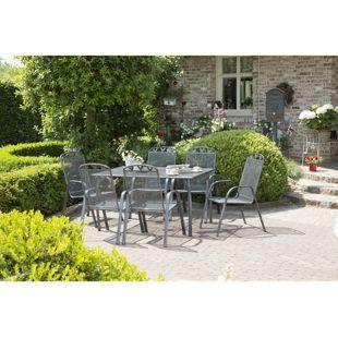 Greemotion Gartentischgruppe Toulouse I, 7 tlg.