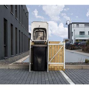 Hide Mülltonnenbox 140l Holz; 1er Box, natur