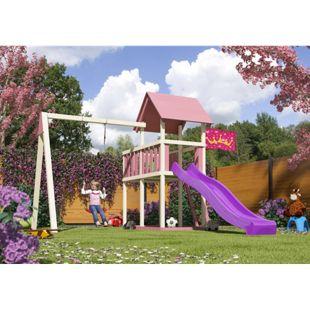 Akubi Spielturm Lotti Set XL mit Farbpaket
