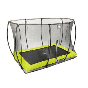 EXIT Silhouette Ground + Sicherheitsnetz Rechteckig 214x305 (7x10ft) Lime