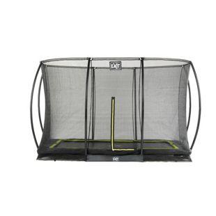 EXIT Silhouette Ground + Sicherheitsnetz Rechteckig 214x305 (7x10ft) Schwarz